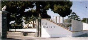 INGRESSO CANTINA VINICOLA DAVENIA